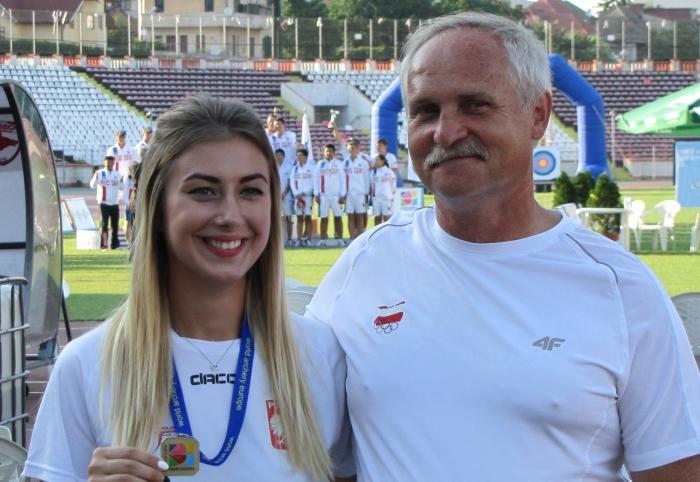 Sylwia Zyzańska brązową medalistką Mistrzostw Europy juniorek – Bukareszt 2016