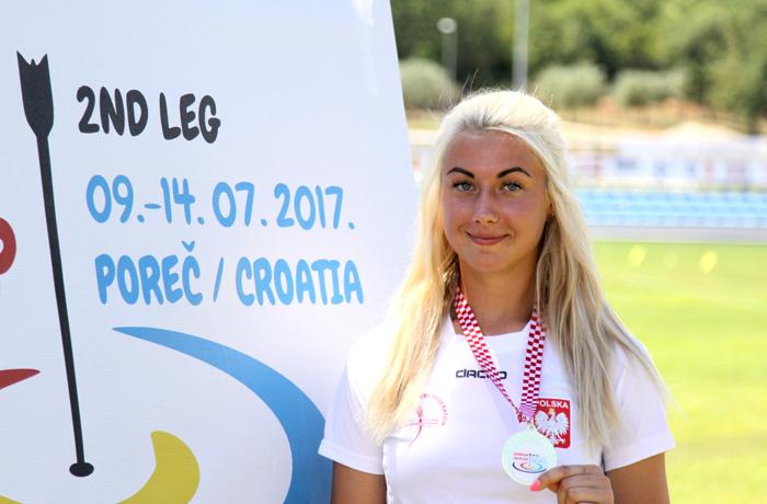 Sylwia Zyzańska z Pucharem Europy!