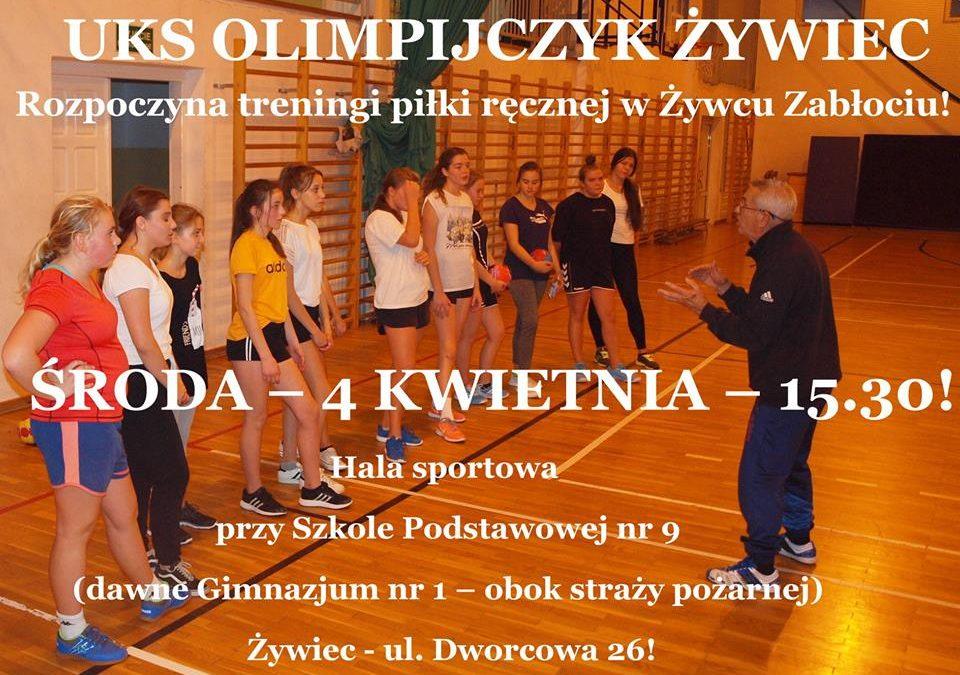 Olimpijczyk trenuje ręczną i w Żywcu Zabłociu!