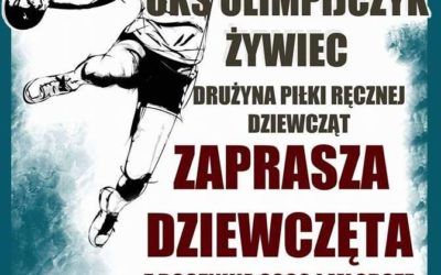 Szkoła w Koszarawie zaprasza przyszłe piłkarki ręczne!